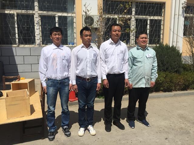 中国人実習生学校訪問 面接